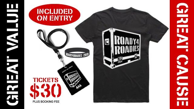 Roady4Roadies Tickets On Sale Now